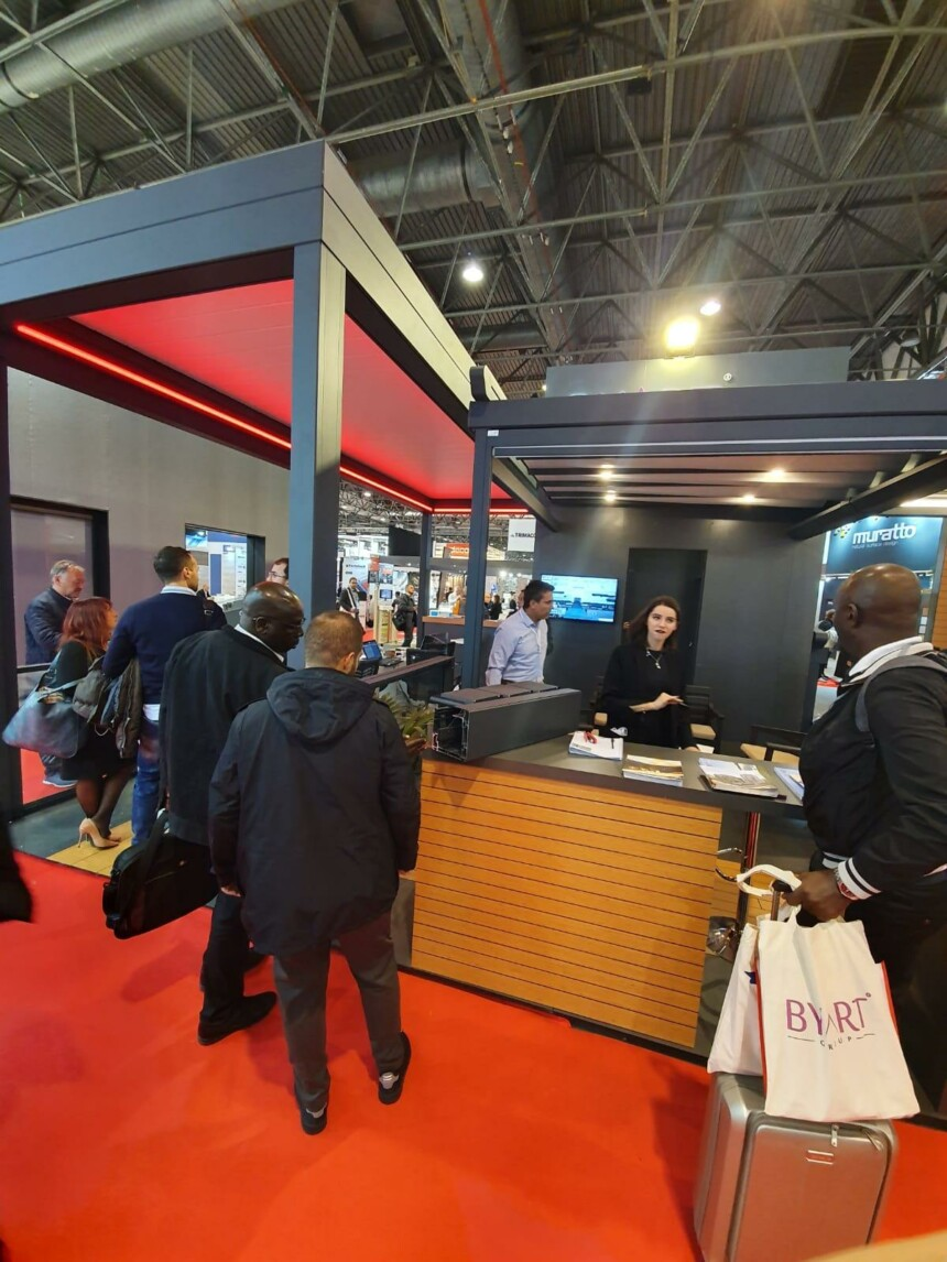 Batimat 2019 Paris, Byart Tente presentation