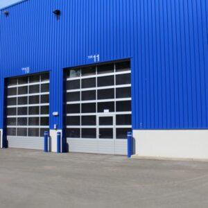 Старт продаж новых промышленных секционных ворот SPU / APU F40 Basic
