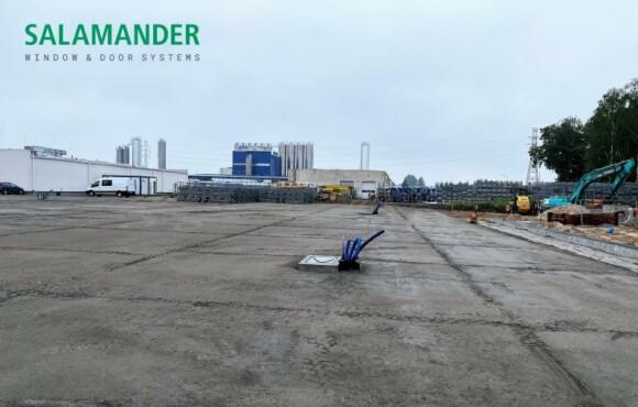 Расширение заводских мощностей Саламандер